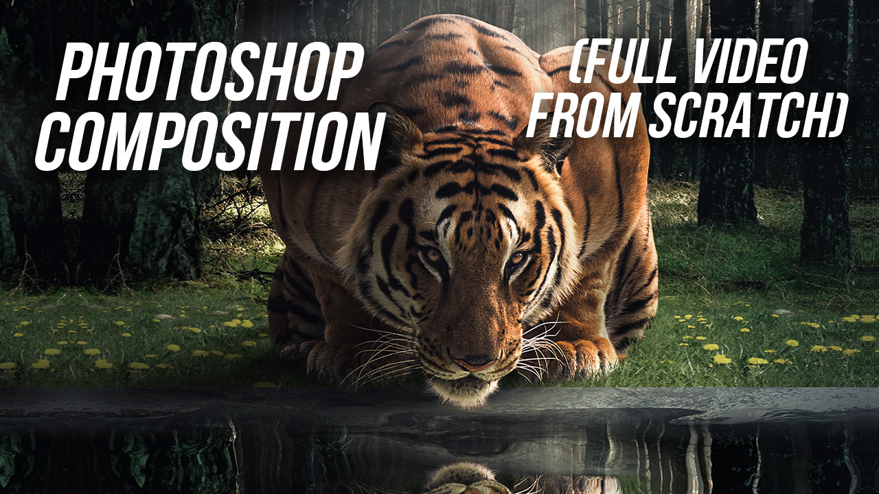 Creating a Photoshop Composition From Nothing