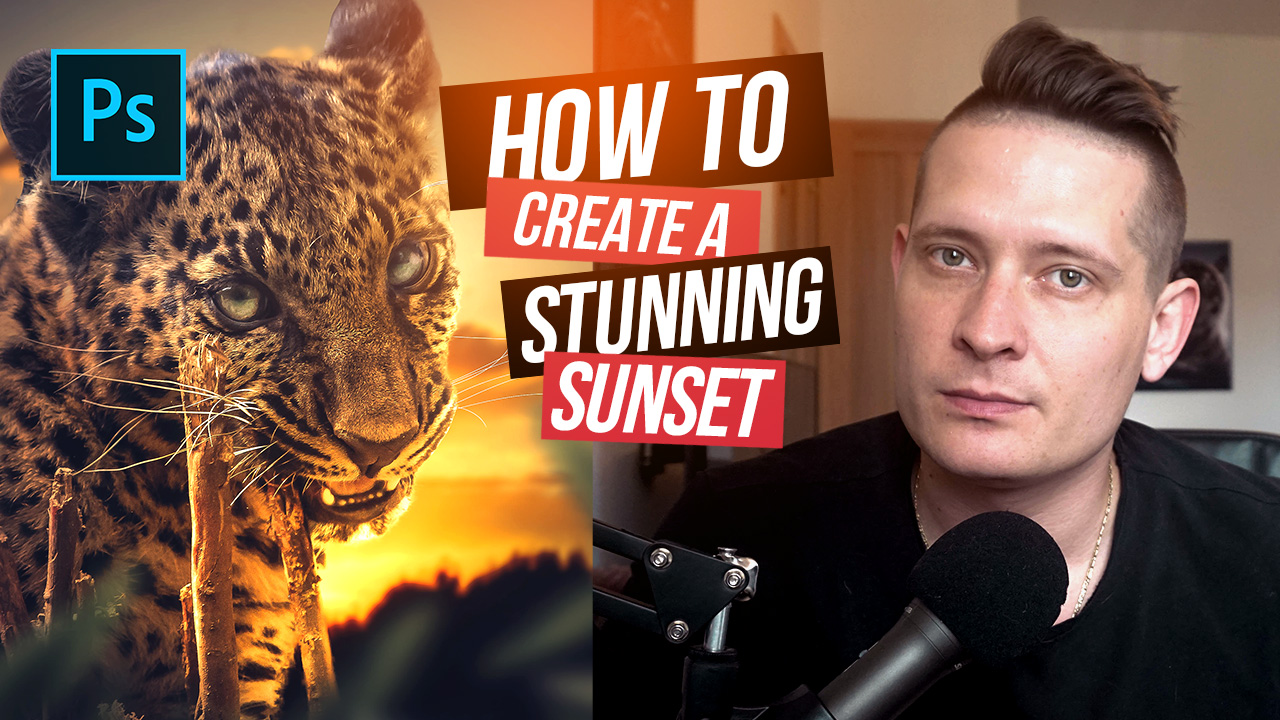 Best Way To Create Sunset Lighting In Photoshop Tutorial
