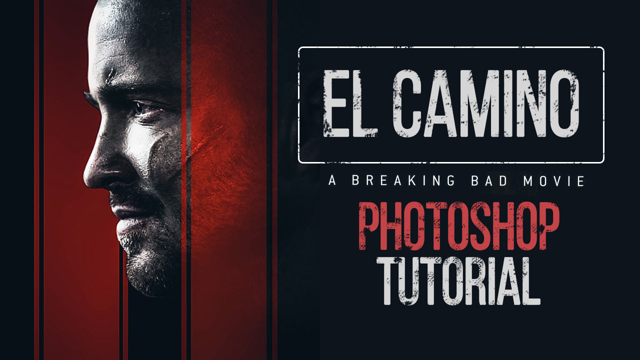 El Camino Movie Poster – Photoshop Tutorial