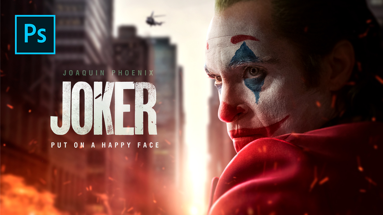 Joker (2019) – Photoshop Tutorial (How To Create Rim Lights)