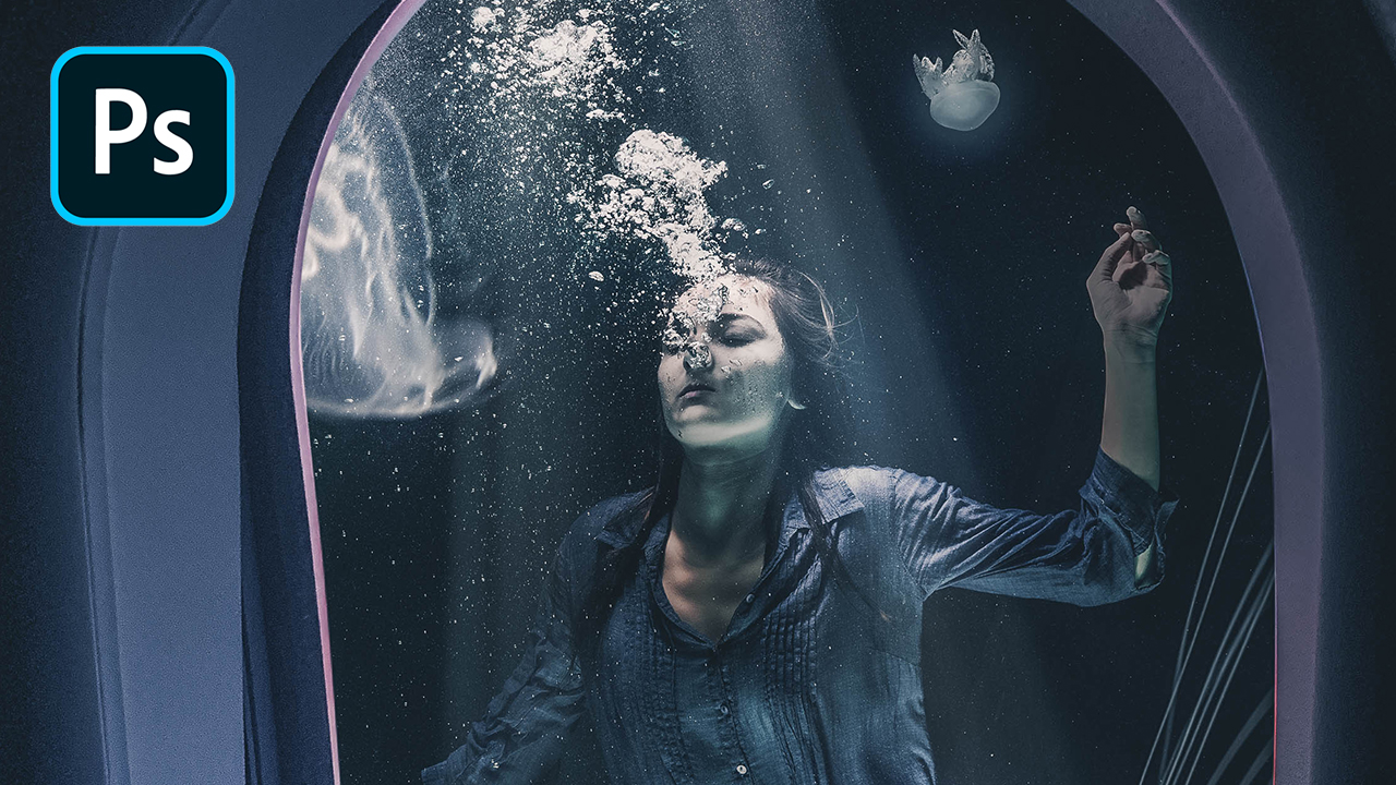 Cinematic Underwater Scene – Photoshop Tutorial