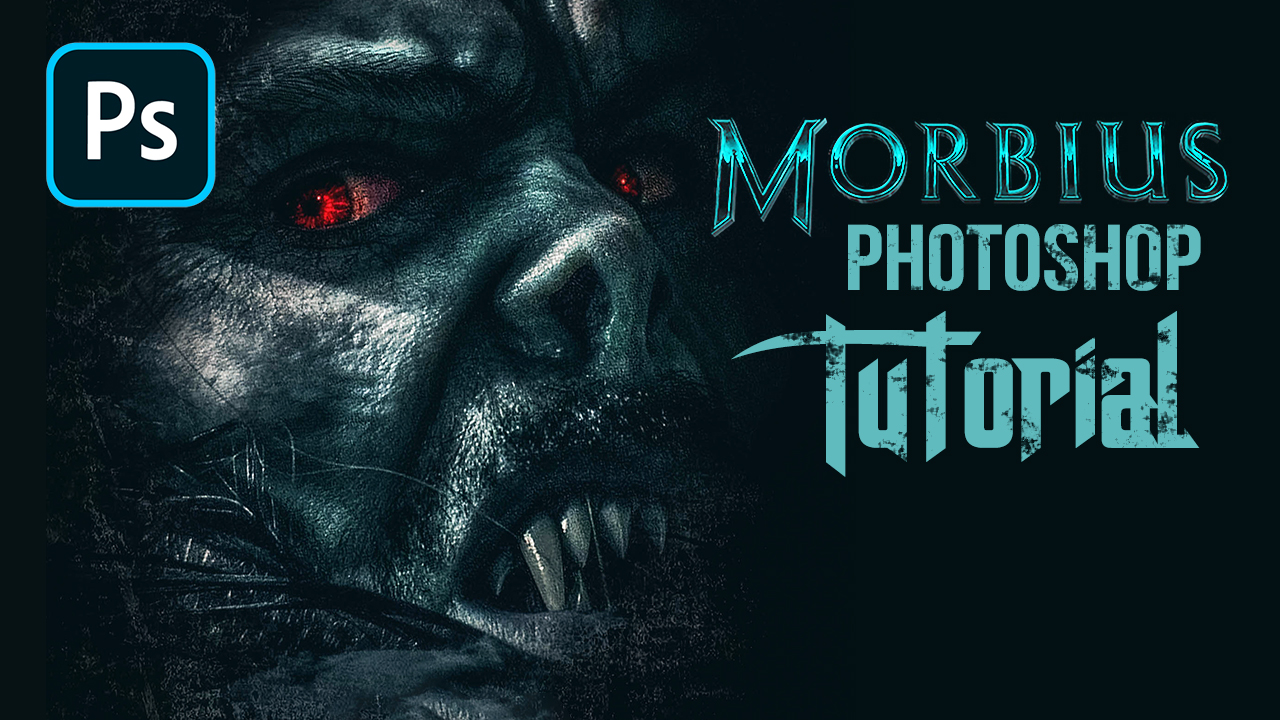 Morbius Movie Poster Photoshop Tutorial