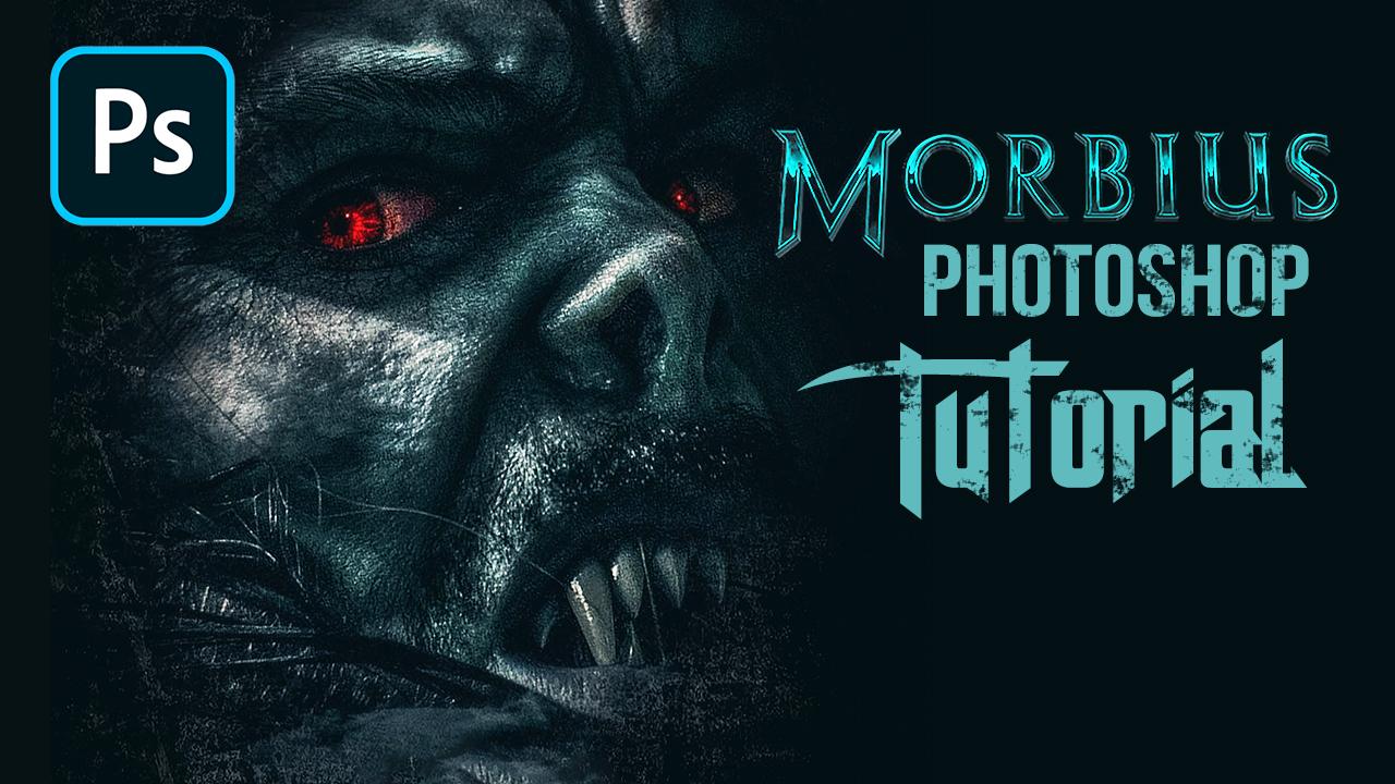 Morbius Movie Poster Photoshop Tutorial