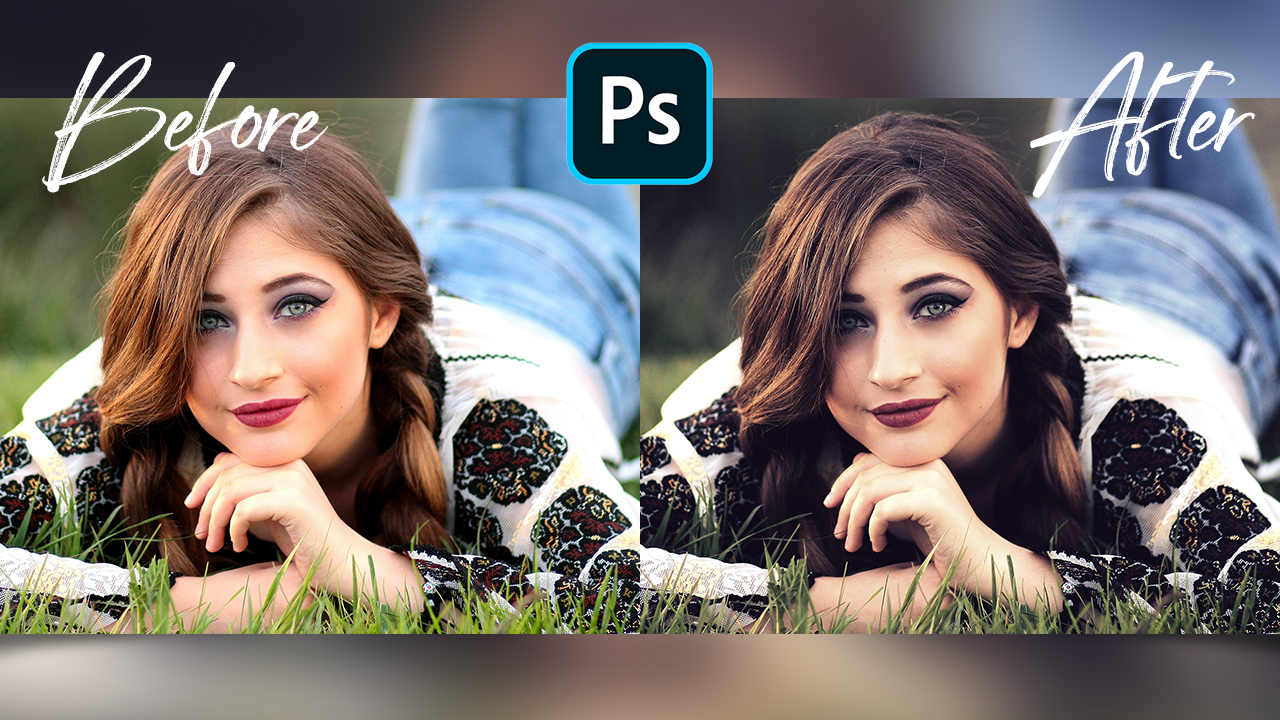 How to Make Your Photo Dark & Moody – Photoshop Tutorial