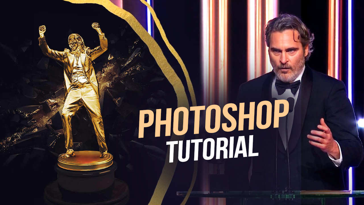 How to Create a Joker Oscar Statue