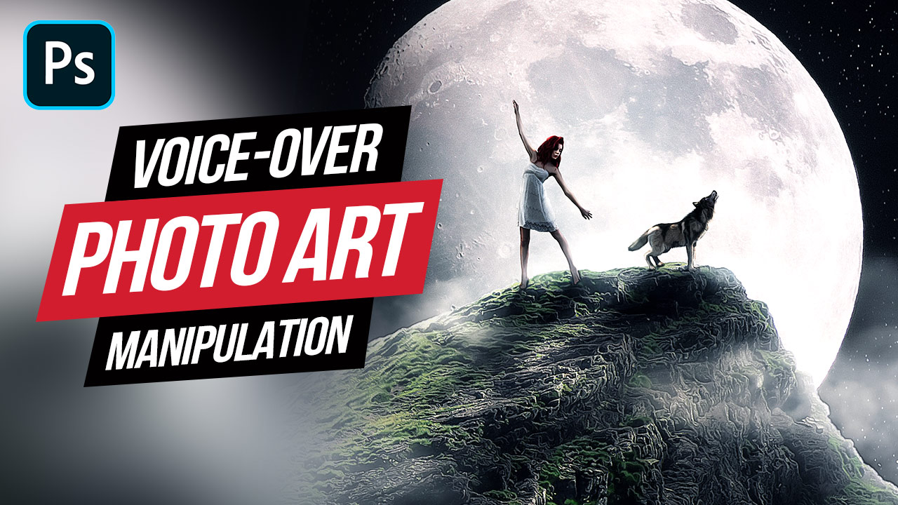 How to Easily Create Artwork in Photoshop using Free Stock Photos