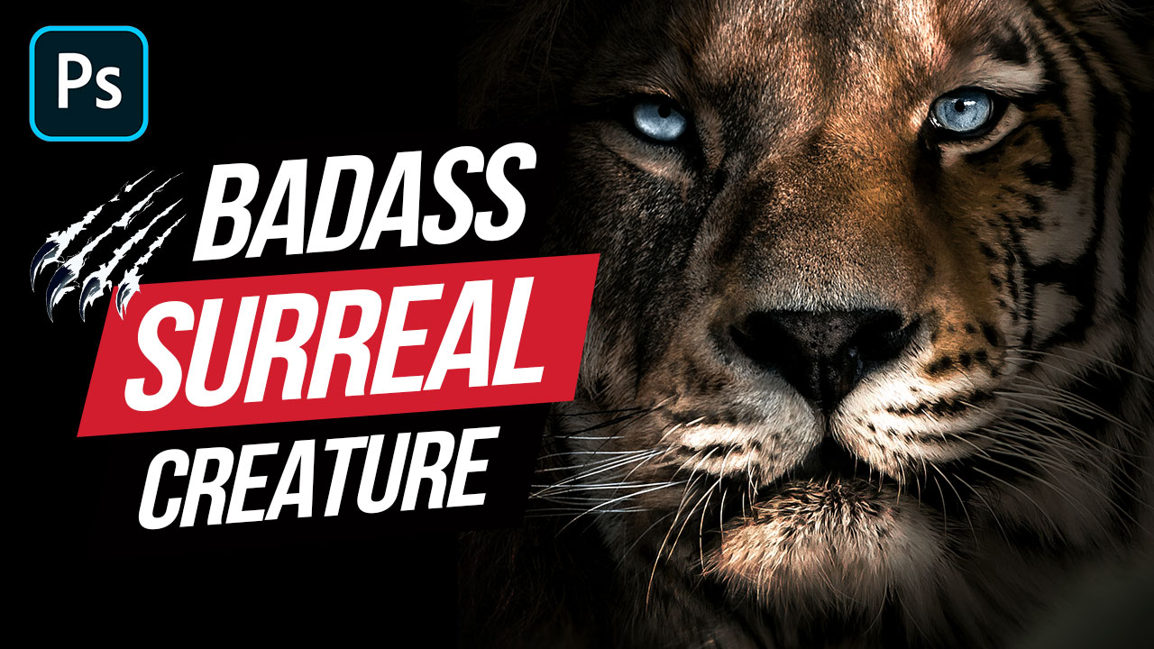 Creating a Tiger Lion in Photoshop