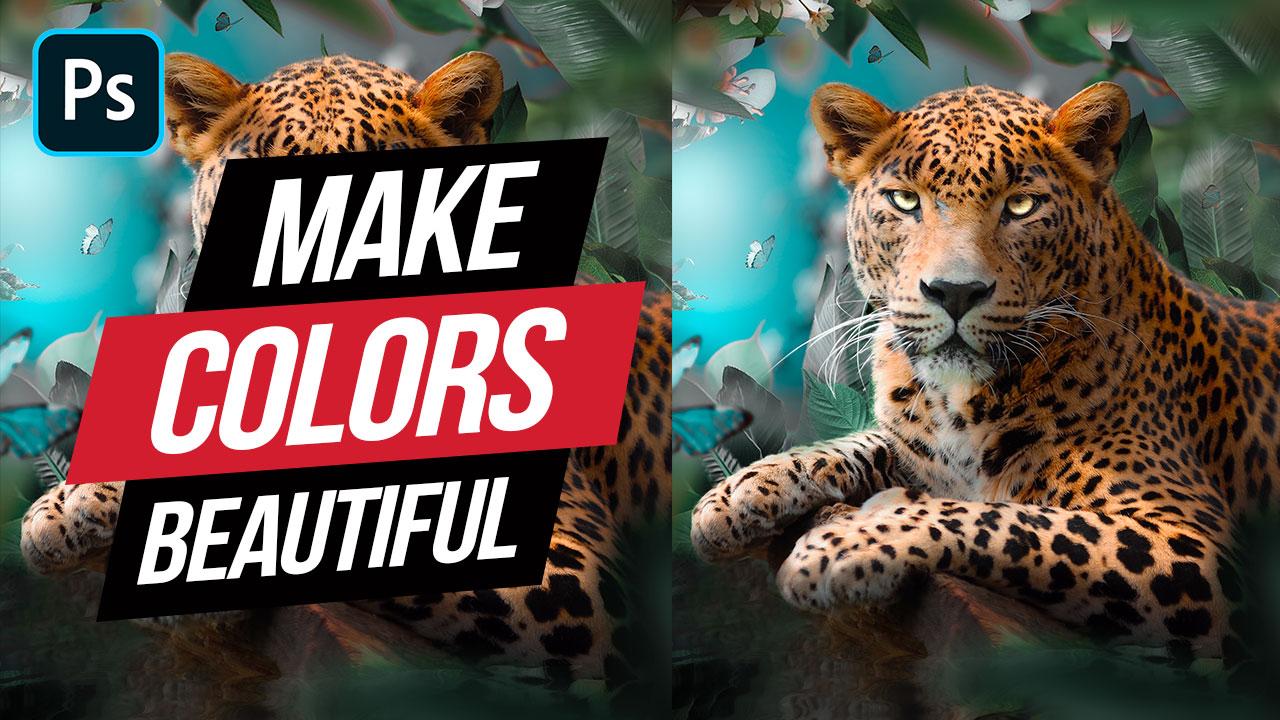 Photoshop Manipulation – Colorful Color Grading
