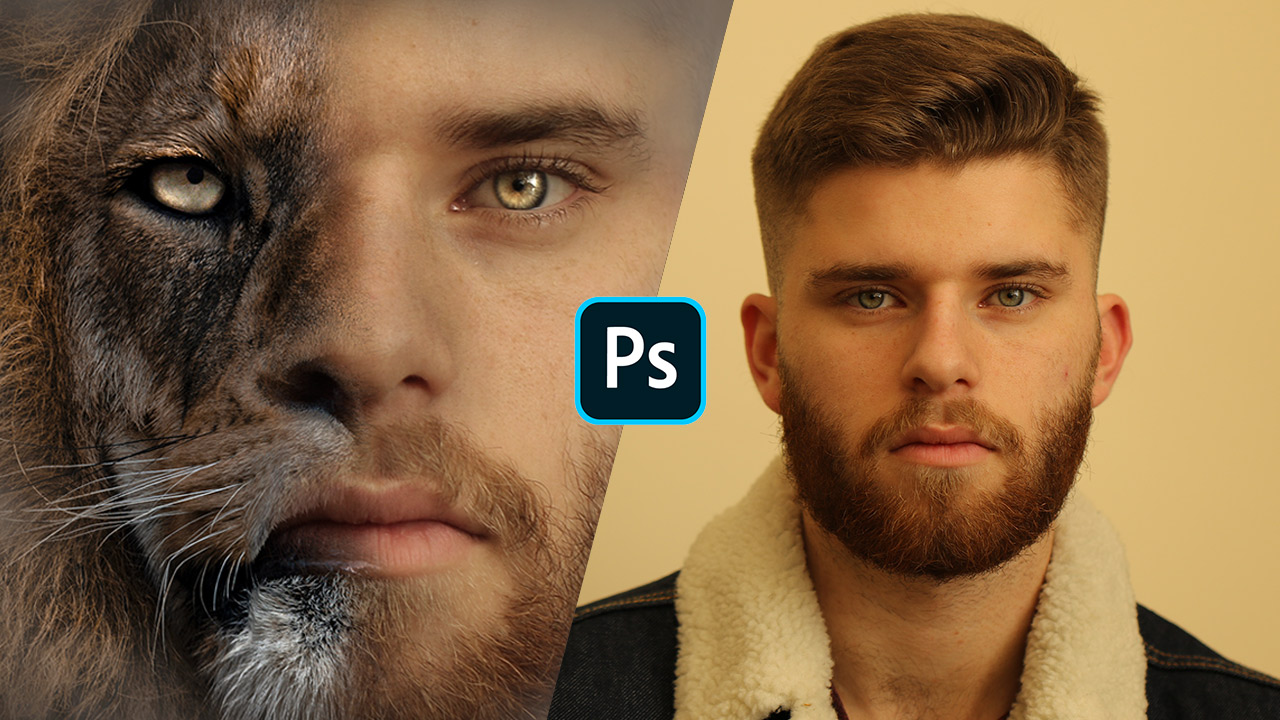 How to Transform Yourself into a Half Lion (Photoshop)