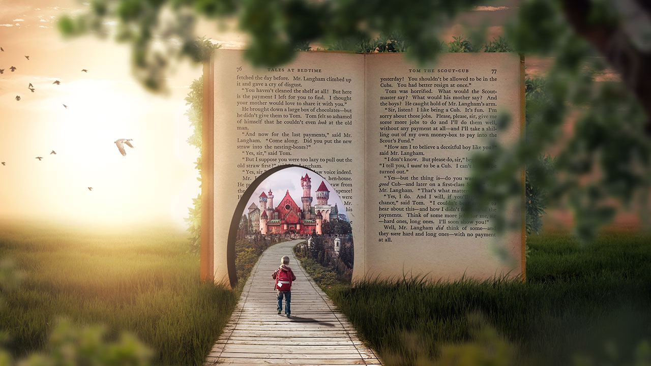 A Fairy Tale Book Manipulation in Photoshop (Skillshare Class)